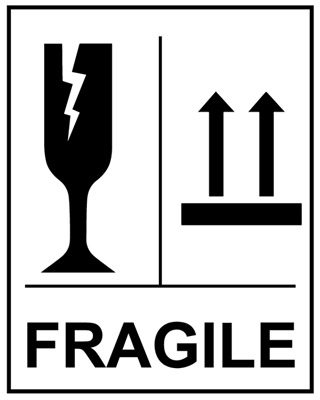 fragile glass this way up self adhesive labels 75x100mm 250 per rh reallyred co uk fragile logo png fragile logo handle care